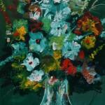 """Из цикла """"Цветы""""-2 110х90, холст, масло, 2010"""