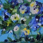 Из цикла Цветы-9 - 80х100 - холст масло - 2013