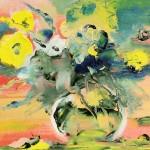 Цветы-вечерние - 30х40 - холст масло - 2013