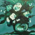 """Из цикла """"Цветы""""-12 - 70х90 - холст масло - 2013"""