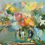 """Из цикла """"Цветы""""-13 - 90х100 - холст масло - 2013"""