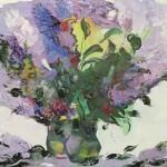 """Из цикла """"Цветы""""-7- 90х110 - холст масло - 2000-2013"""