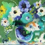 Цветы для Нины Заречной - 40х50 - холст масло - 2013